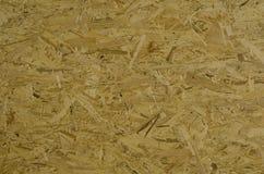 Texture focalisée de plat strucured en bois d'OSB Image libre de droits