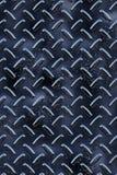 Texture foncée de fond d'écoutille de diamant en métal Image stock
