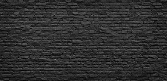 Texture foncée de mur de briques photos libres de droits