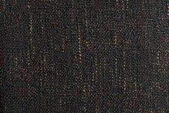 Texture foncée de tissu Photo stock