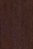 Texture foncée en bois de wenghe Photographie stock