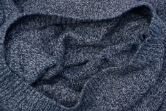 Texture foncée grise de tissu de menthe de laine Photo libre de droits
