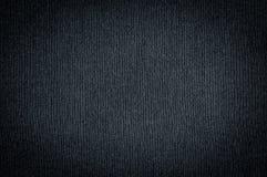 Texture foncée noire de tissu Image stock