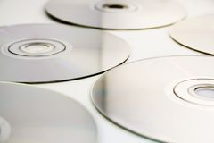 Texture/fond CD Photos libres de droits