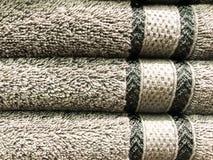 Texture, fond des serviettes éponge image libre de droits