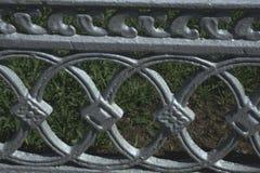 Texture, fond, modèle Le gril de fonte un métal argenté-gris magnétique fort et dur, photos stock