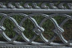 Texture, fond, modèle Le gril de fonte un métal argenté-gris magnétique fort et dur, image stock