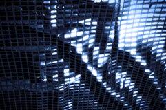 Texture, fond, modèle Tissu avec de grandes étincelles de c bleu photo stock