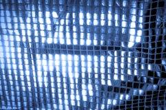 Texture, fond, modèle Tissu avec de grandes étincelles de c bleu photo libre de droits