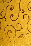 Texture, fond, modèle Tissu de damassé avec les modèles brillants Images stock