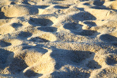 Texture   footstep  in kho samui    stone abstract Royalty Free Stock Photo
