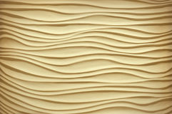 Texture in the form of sand dunes Stock Image