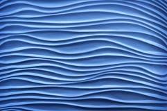 Texture in form of ultramarine sand dunes Stock Image