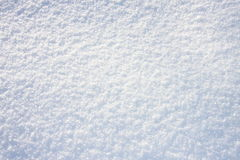 Texture fraîche blanche de neige, fond Image libre de droits