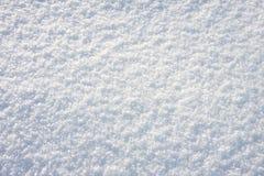 Texture fraîche blanche de neige, fond Photographie stock libre de droits