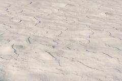 Texture fraîche de neige Photographie stock