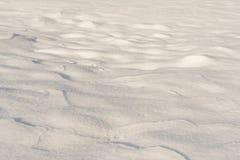 Texture fraîche de neige Photographie stock libre de droits