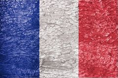 Texture of France flag royalty free stock images