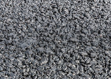 Texture of fresh asphalt Stock Photo