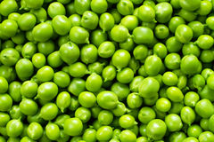 Texture of fresh green peas Royalty Free Stock Photos
