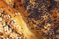 Texture of fresh pastries Stock Photography