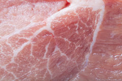 Texture of fresh raw pork meat for background. Selective focus.  Stock Photos