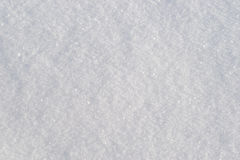 Texture of fresh snow Royalty Free Stock Photography