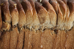 Texture freshly baked bread Royalty Free Stock Images