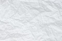 Texture froissée du livre blanc photographie stock