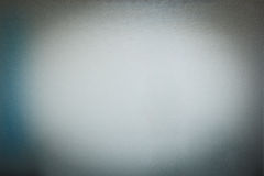 Texture of frosted glass. With vignette Royalty Free Stock Photography