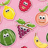Texture with fruit 1 Royalty Free Stock Image