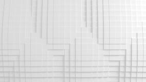 Texture géométrique abstraite des cubes aléatoirement expulsés Images stock