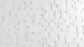 Texture géométrique abstraite des cubes aléatoirement expulsés Image libre de droits
