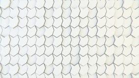 Texture géométrique abstraite des polygones aléatoirement expulsés Photographie stock