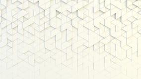 Texture géométrique abstraite des triangles aléatoirement expulsées Photo libre de droits
