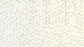 Texture géométrique abstraite des triangles aléatoirement expulsées Images libres de droits