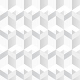 Texture géométrique blanche Fond sans couture Photo stock