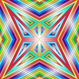 Texture géométrique colorée sans couture Illustration de Vecteur