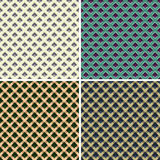 Texture géométrique dans des tons de la terre Photos stock