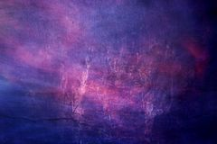 Texture galactique brumeuse colorée artistique de résumé comme fond illustration de vecteur