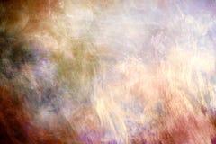 Texture galactique brumeuse colorée artistique de résumé comme fond illustration stock