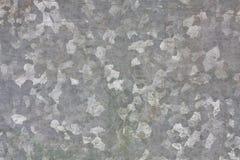 Texture galvanisée par zinc en métal Images libres de droits