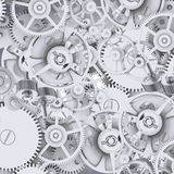 Texture of gears and cogwheels Royalty Free Stock Photography