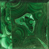 Texture of gem Malachite Royalty Free Stock Images
