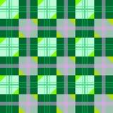 Texture gentille avec les figures géométriques vertes Photographie stock