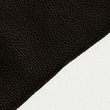 Texture of genuine leather close-up, always fashion combination, black and white color . For modern pattern, wallpaper Royalty Free Stock Images