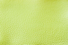 Texture of genuine leather close-up, fashion light green color. For background , backdrop, substrate, composition use. Texture of genuine leather close-up Stock Photos