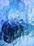Texture givrée 2 d'hublot Images stock
