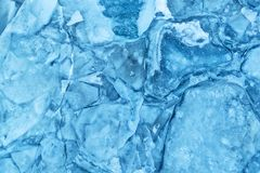 Texture of glacier ice in close-up detail Stock Image