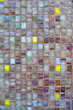 Texture of glass mosaic. 